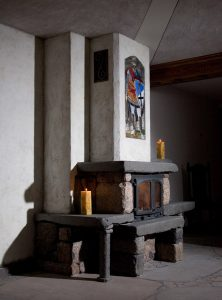 Projekt kominka w stylu średniowiecznym