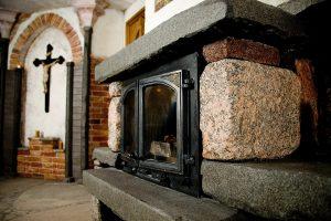 Projekt kominka w stylu średniowiecznym 2