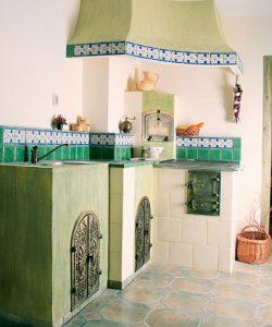 piec w kuchni
